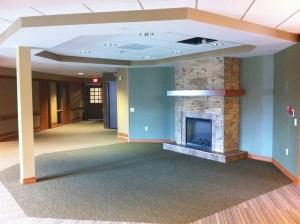 Greencroft fireplace
