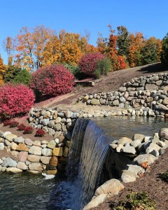 Hubbard Hill park_waterfall