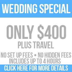 Wedding DJ Special - Low Cost only $400 no hidden fees - www.djdlowofficial.com