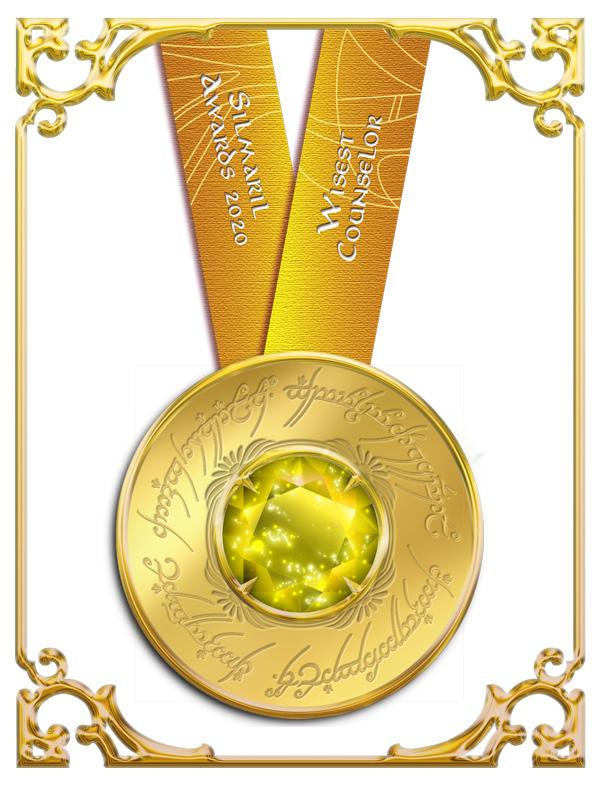 Wisest Counselor Silmaril Awards 2020 medallion