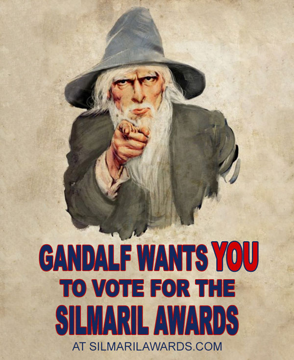 Gandalf wants you to vote for the Silmaril Awards