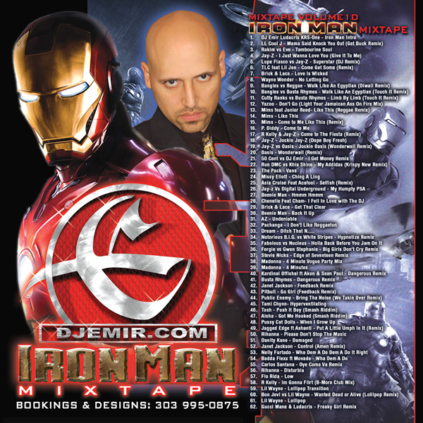 Iron Man Mixtape