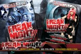 Freak Night 3 Halloween Flyer Design
