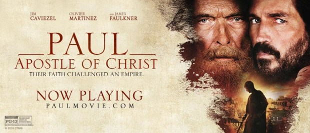 Paul, Apostle of Christ movie poster #paulmovie