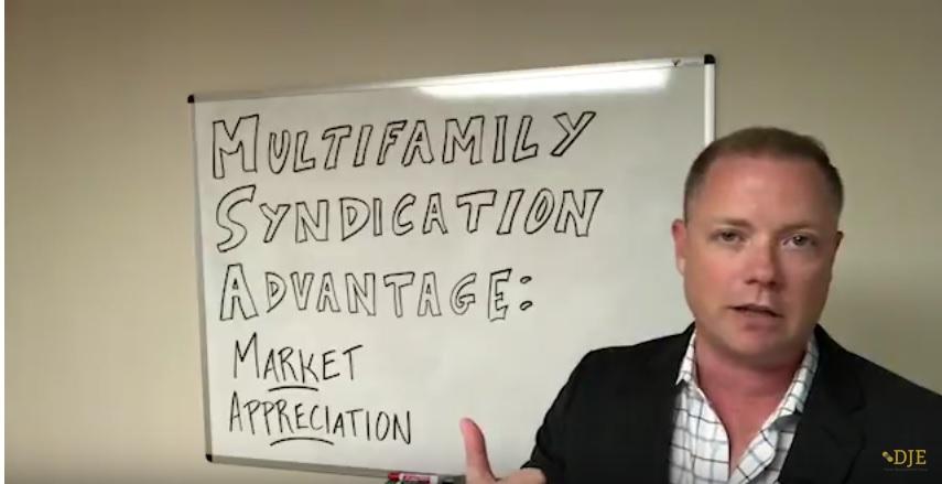 Multifamily Syndication Advantage: Market Appreciation