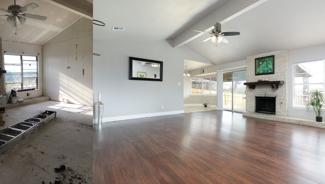 Before & After – Adams Hill 2