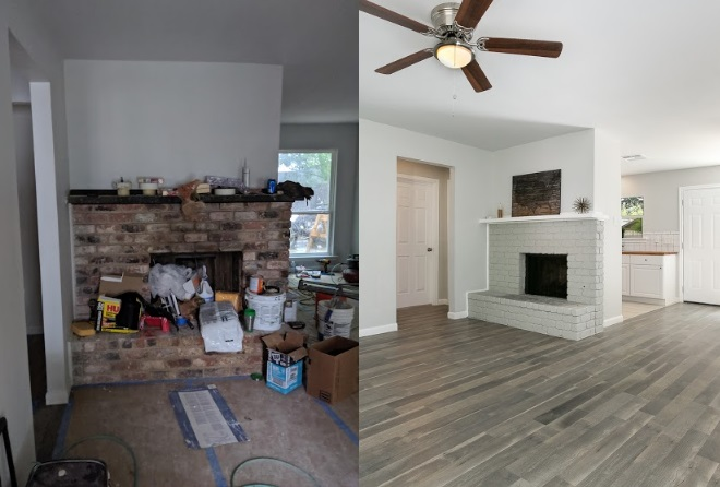 Before & After – Cliffmore