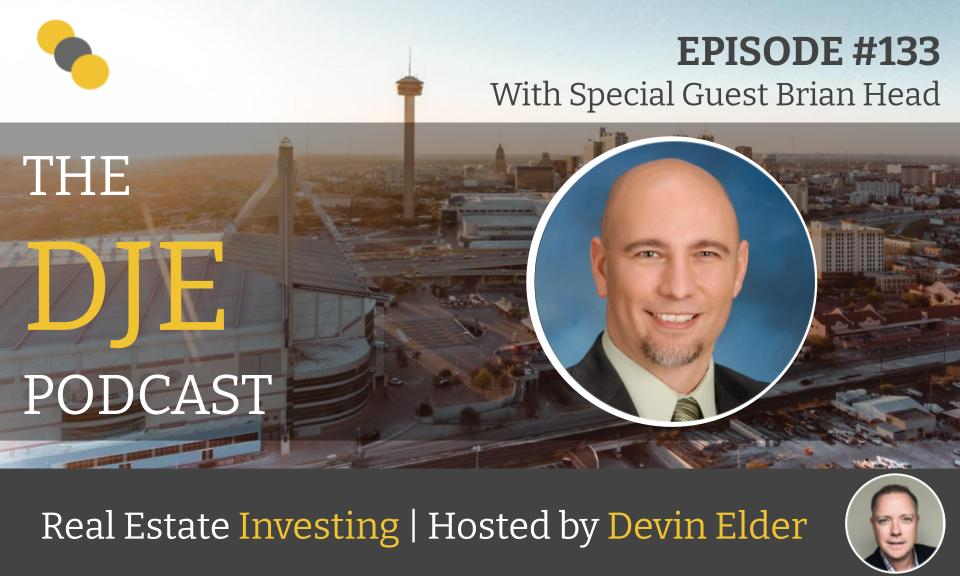 The DJE Multifamily Podcast #133 with Brian Head