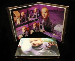 09.Album BOTEZ 20x20cm plus Carcasa DVD Personalizata 350 lei