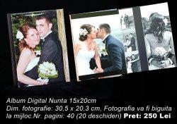 01Album Digital Nunta 15x20cm