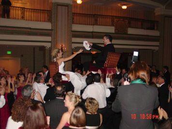 Chair Dance DJ Frank Young Bilingual Wedding DJ Dallas Forth Worth English Spanish