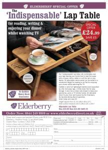 off the page advertising, Elderberry