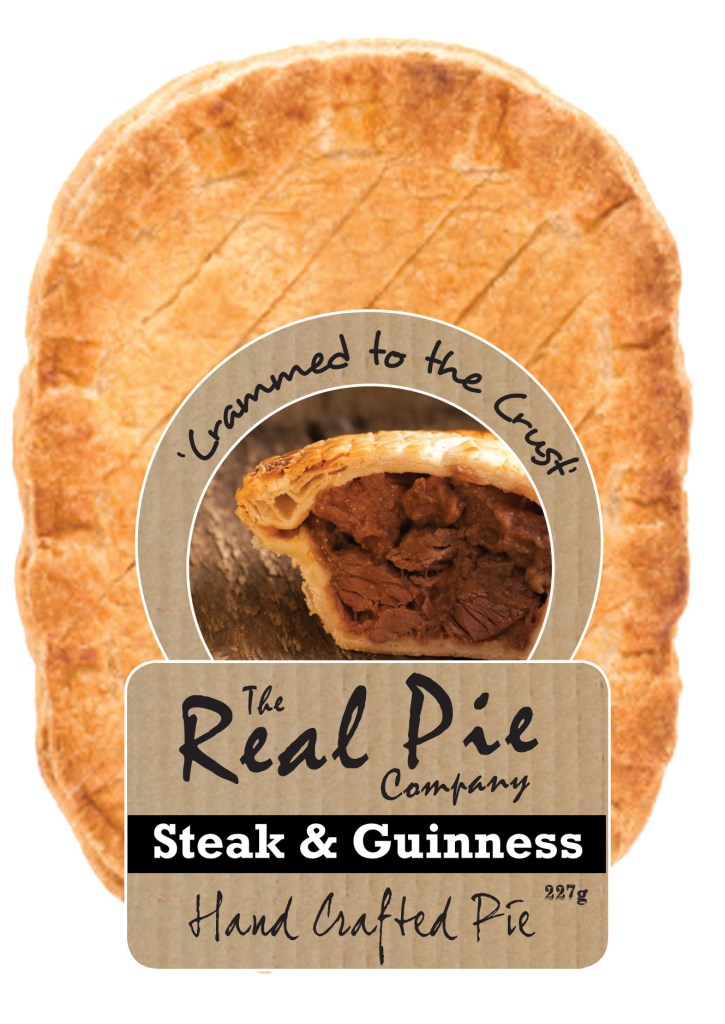 Real Pie Company, Branding, Packaging Design