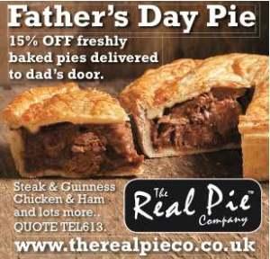 Response Advertisement, Real Pie response advertisement
