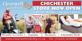 Clearwell Mobility 48 Sheet Poster