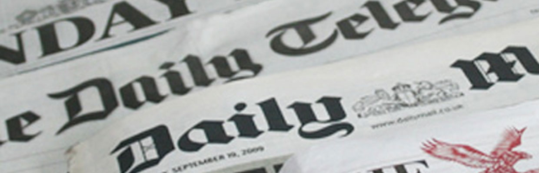 DJH Advertising Newspapers Header, DJH Advertising Media & Advertising Creative