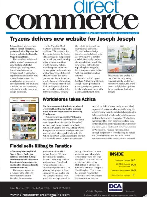 Direct Commerce magazine cover