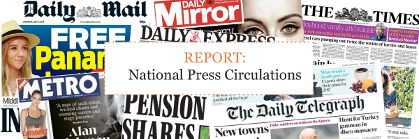 National Press Circulations