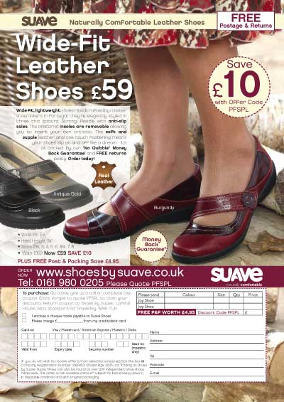 Suave Shoes Off the page Advertisement