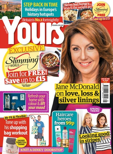 Yours Front Cover