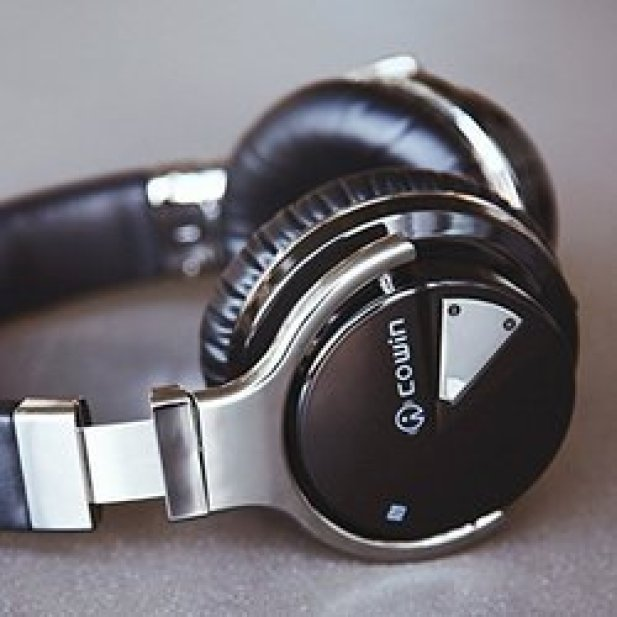 COWIN E7-Active-Noise-Cancelling-Bluetooth-Headphones