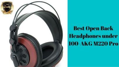 Best Open Back Headphones under 100-AKG-M220-Pro