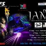 Aug.4-8, 2010/DJ JAM India Tour