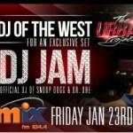 DJ Jam live on Mix 104.4 Beirut, Lebanon / Jan. 23rd 8PM