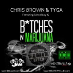 """NEW MUSIC"" Chris Brown & Tyga ""B_tches N Marijuana"" (DJ Jam & Dave Moss Remix)"