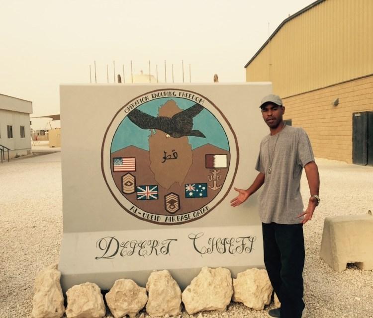 """NEW PHOTOS"" U.S. Military Base / Doha, Qatar / July 18th & 19th"