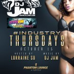 Thursday Oct. 15th / DJ Jam @ Phantom Lounge / San Diego, CA