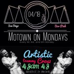 Monday April 18th / Motown on Monday @ Bar Pink / San Diego,CA