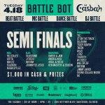 Battle Bot at the Casbah | Semi-Finals| 4/18/2017