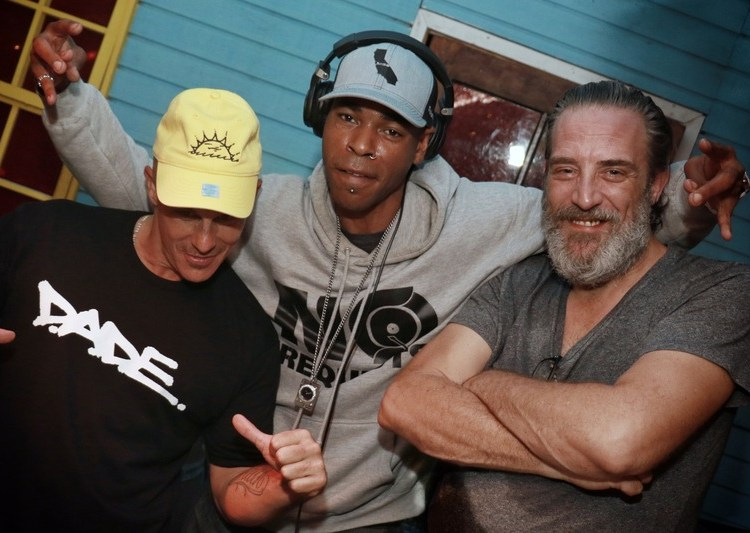 """Dj Jam at the """"Hip-Hop Don't Stop"""" event in South Beach Miami"""