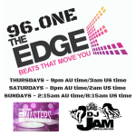 Great News!!! I Just signed on to The Edge 96.One broadcasting from Sydney Australia