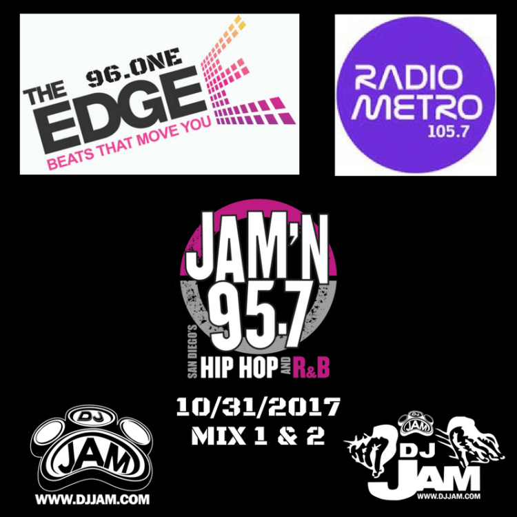 DJ Jam Radio Mix 1 & 2 10/31/2017