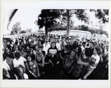 Outdoor event in Pasadena KROQ