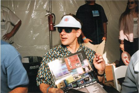 KROQ Calendar event Jed The Fish 1999