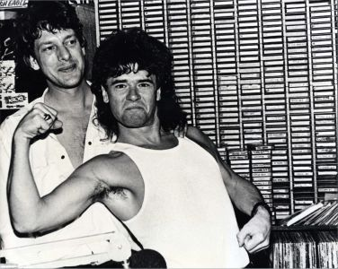 INXS Member Tim Ferriss and Jed The Fish
