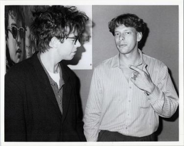Ian McCulloch of Echo and the Bunnymen and Jed The Fish, cir.87