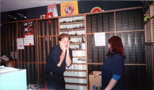 New KROQ studio in 1996