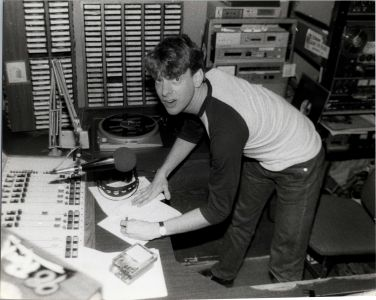 Jed The Fish, Pasadena KROQ control room.