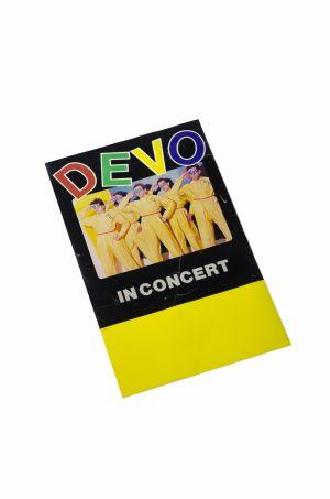 DEVO performance poster
