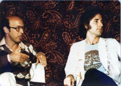 Peter Bergman and Harry Shearer at USC in 1974