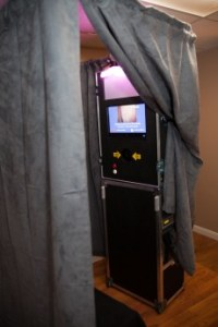 Photo Booth for wedding receptions, events and parties