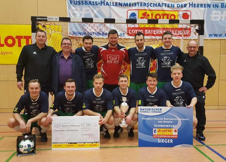 1. Titel: Lotto Bayern Hallencup - Kreissieger Schweinfurt