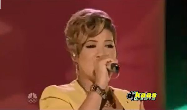 Tessanne Chin performs Underneath it All TheVoice Top 8