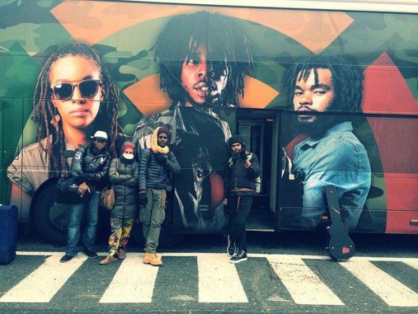 Chronixx Dread and Terrible European Tour Bus 2014