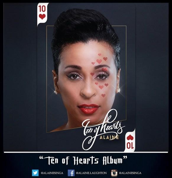 """Alaine Laughton releases highly anticipatedalbum """"Ten Of Hearts """""""