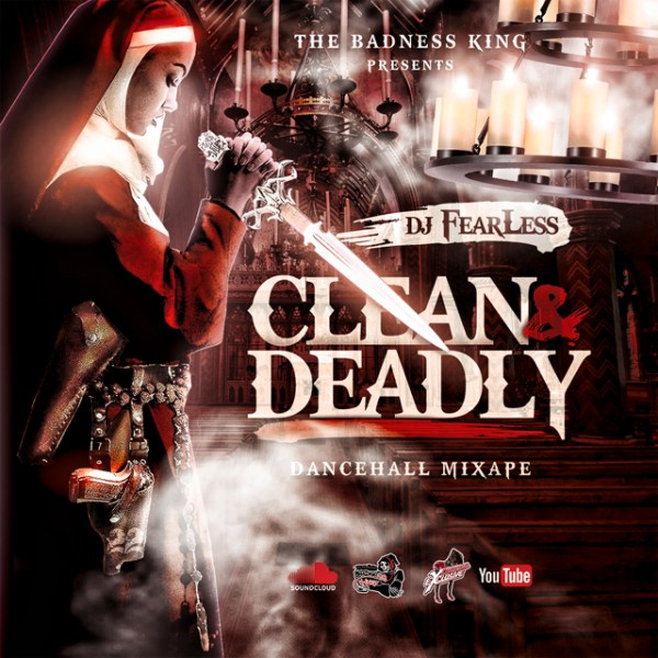 DJ FearLess - Clean & Deadly Mixtape - Cover